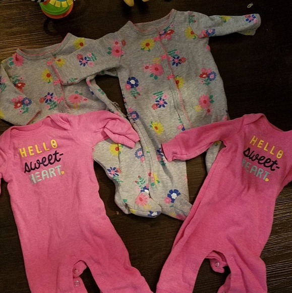 c0c2153b8 Carter's Matching Sets | Carters 4 Piece Twin Outfits Size 3 Month ...